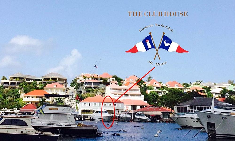 Gustavia Yacht Club Location