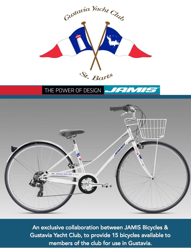 Jamis Bikes Gustavia Yacht Club
