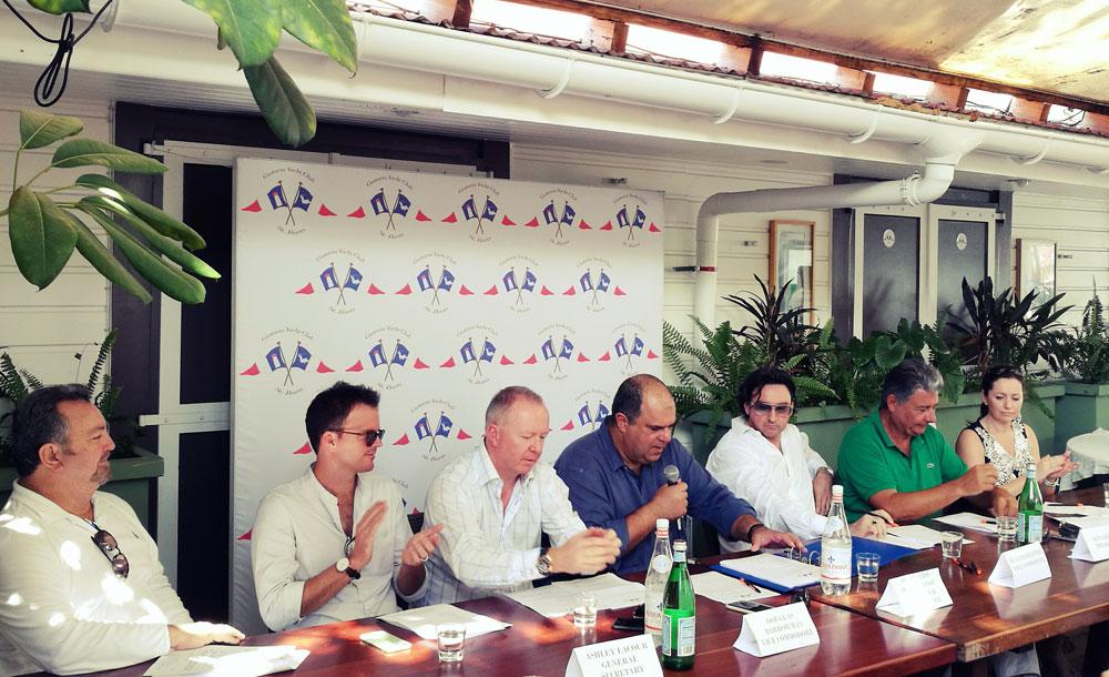 Gustavia Yacht Club First AGM