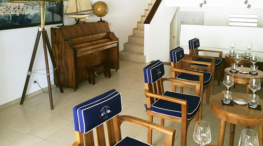 Gustavia Yacht Club Interior